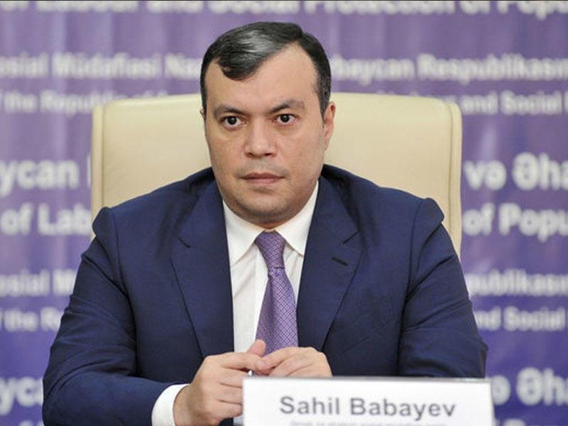 """Sahil Babayev: """"2500-ə qədər şəxsin əlillik statusu ləğv olunub"""""""